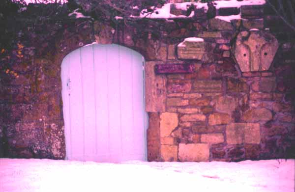 Abbotsbury in the snow - late evening (2), by Andrew Green
