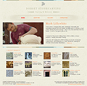 www.dorsetstonecarving.co.uk - click here to visit the site (opens in a new window)